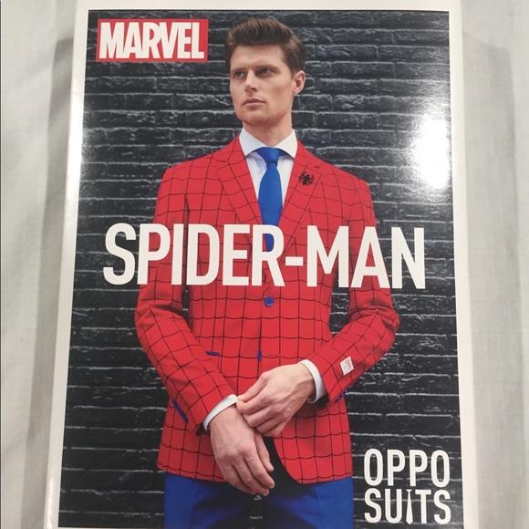 5e9c98da4f8 OppoSuits Suits & Blazers | Spider Man Suit | Poshmark